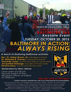 Baltimore in Action Keynote Flyer
