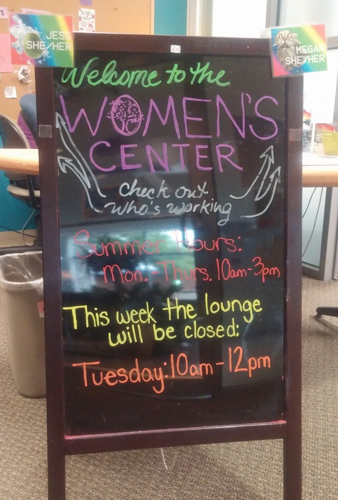 Check the welcome sign at the reception desk to see who's working and find out if there are any lounge closures scheduled for the week.