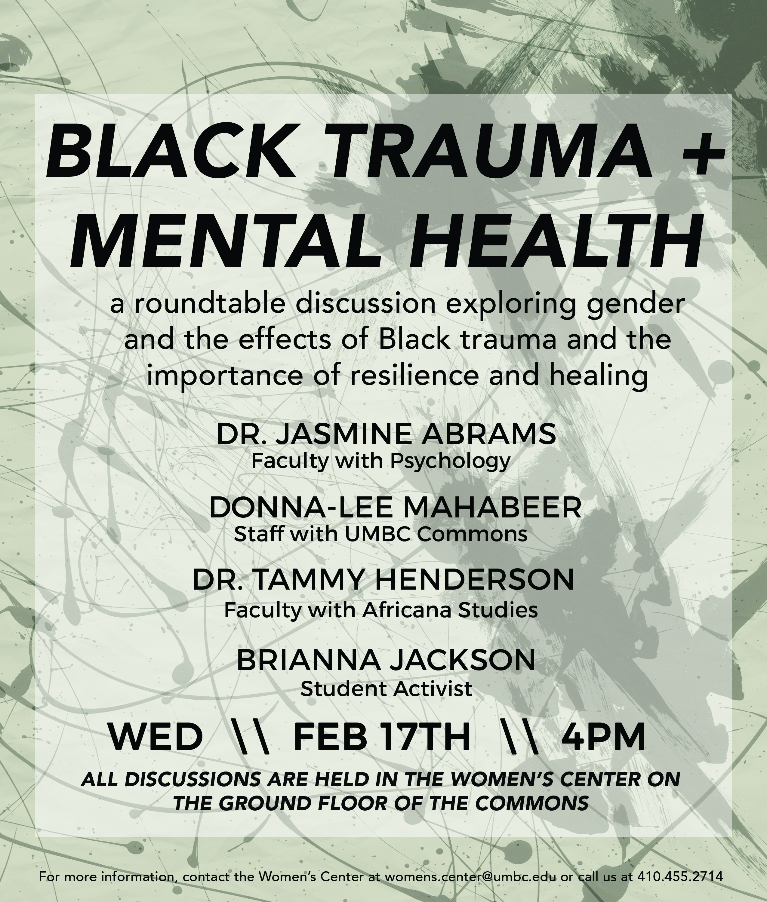 Roundtable: Black Trauma and Mental Health
