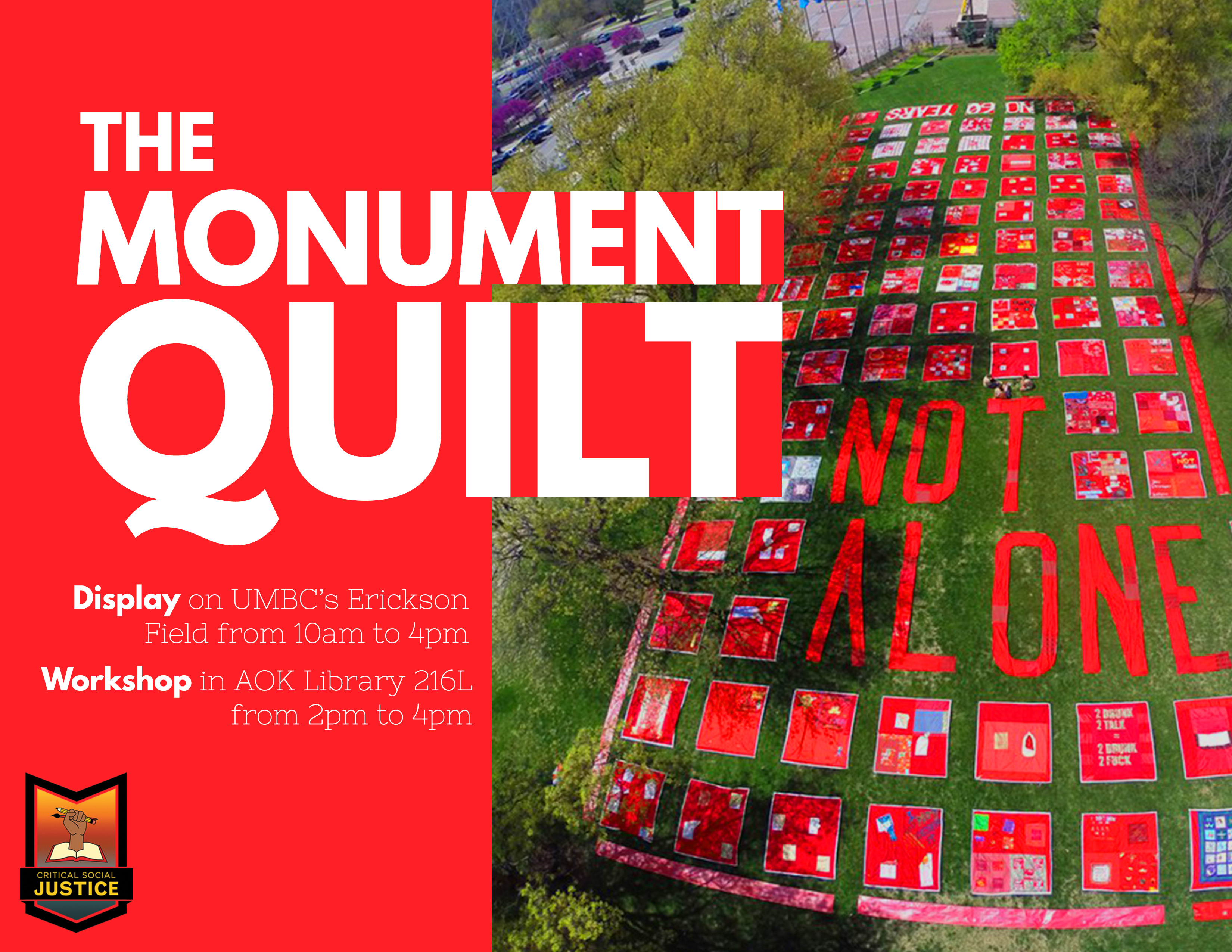 The Monument Quilt Display