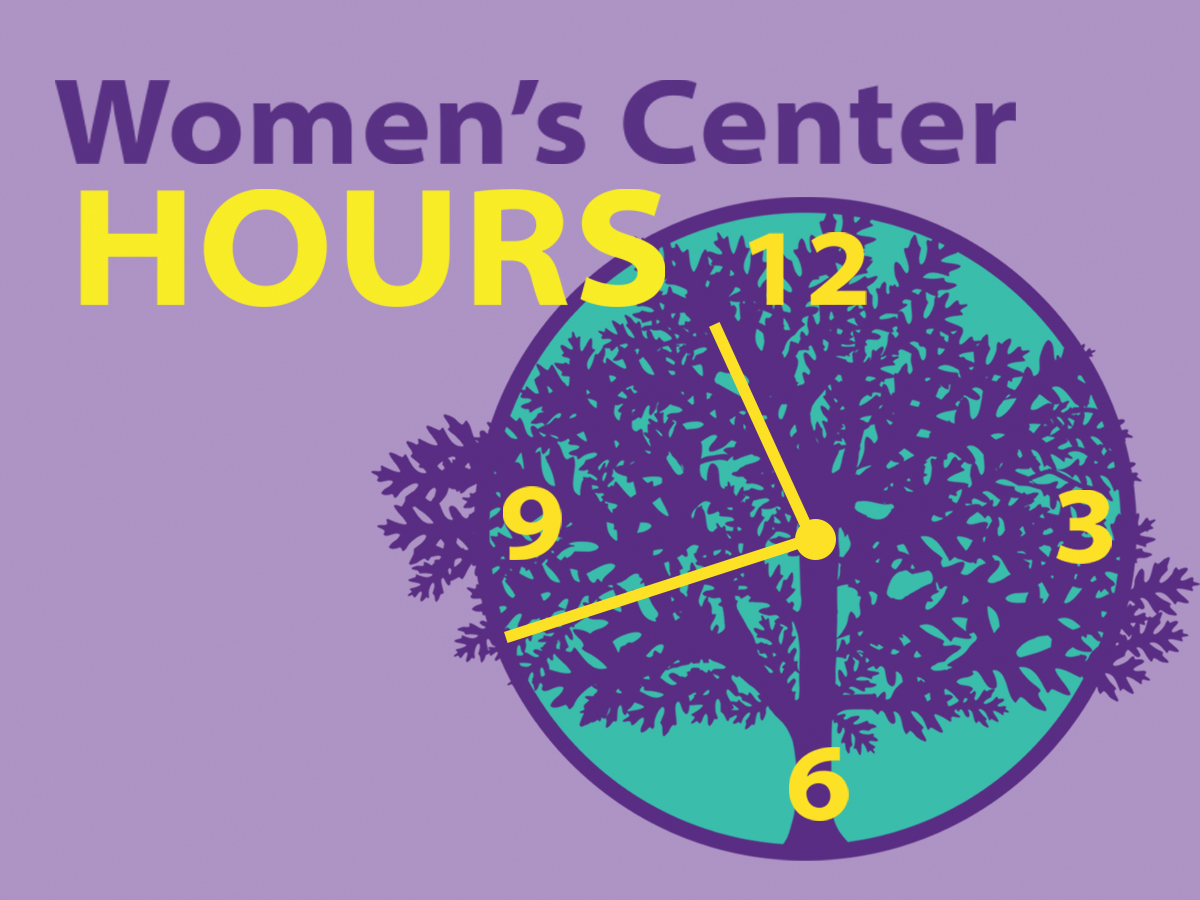 Women's Center Summer 2018 Hours